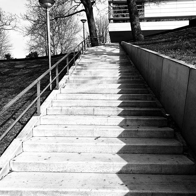 Stairs to Valkhof Nijmegen