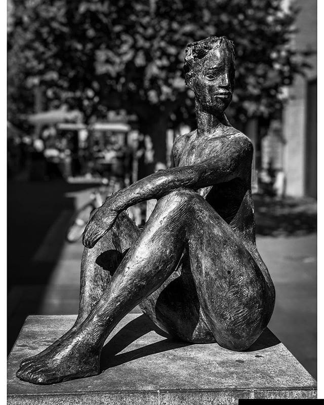 Statue in Helmond