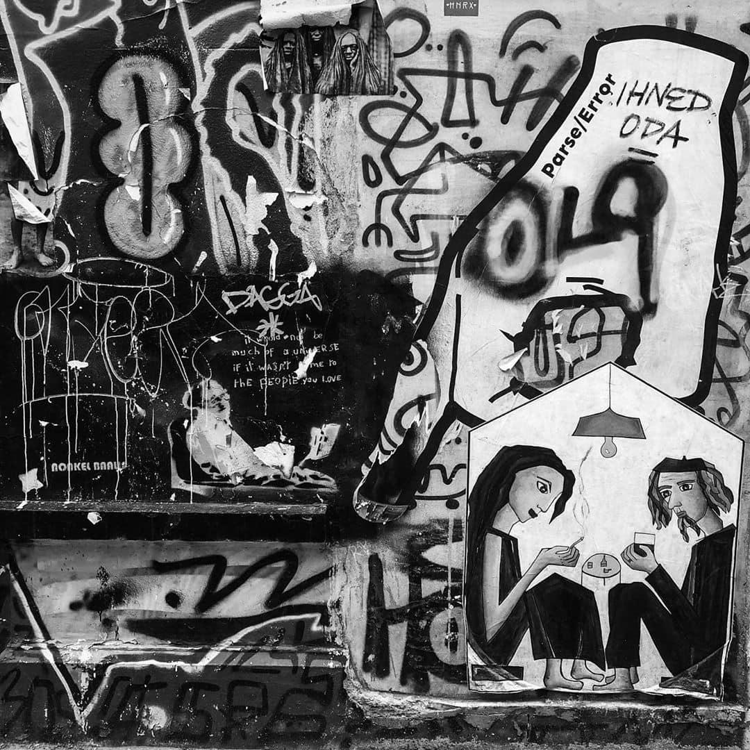 Parse error graffiti
