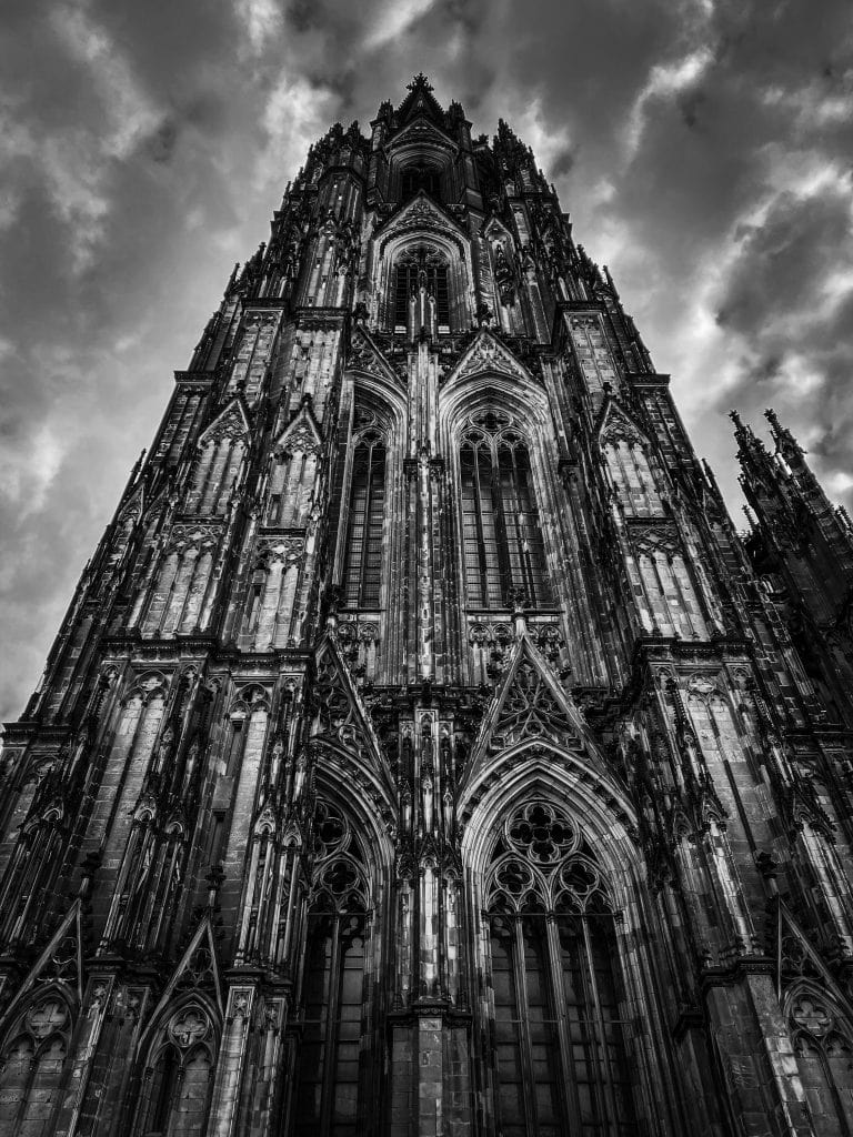 Cologne in black and white